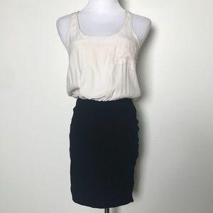 Parker Silk Double Zipper Dress